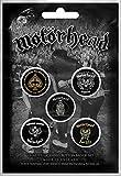 Motörhead - Juego de 5 chapas con texto 'Gimme Some/Inglaterra'