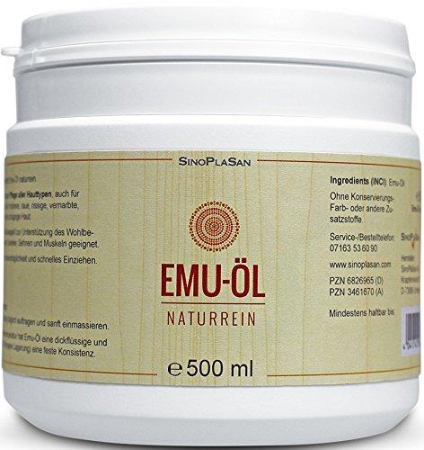 Emu Huile naturelle 500ml 100% naturelle