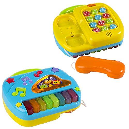 PlayGo - Piano y Teléfono con sonidos y colores (42006) , color/modelo surtido
