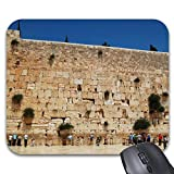 N\A Alfombrilla para ratón Alfombrilla para ratón de Pared Occidental (Jerusalén, Israel) Alfombrilla para ratón con impresión Accesorios informáticos