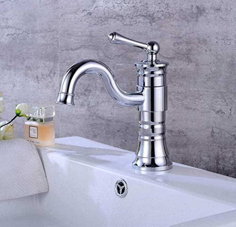 Retro Faucet Mixer Faucet Pedestal Basin Faucet Bathroom Swivel Faucet Basin Pedestal Hot and Cold Faucet