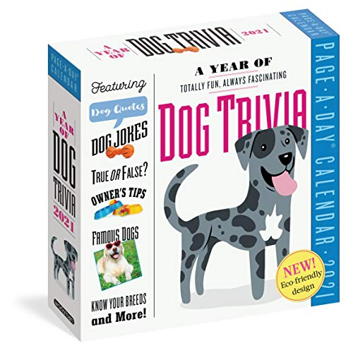 A Year of Dog Trivia Page-A-Day Calendar 2021