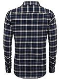 Zoom IMG-1 coofandy camicia casual uomo blau