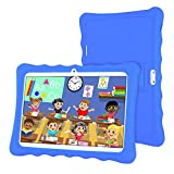 Tableta 10 Pulgadas,LAMZIEN Android 8.1 Tablet Infantil,2GB RAM y 32GB ROM,Quad-Core 1.8Ghz,3G Dual-Sim,Wifi, Bluetooth,Cámara Dual,Google Play,Juegos Educativos,Azul