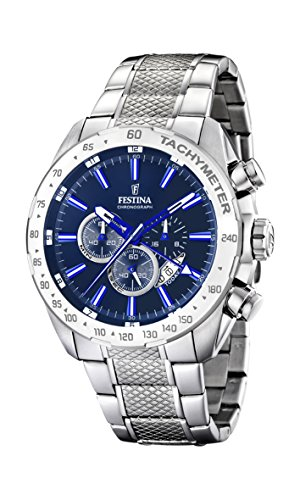 Festina Chrono Sport F16488/B Men's watch Second Time Zone