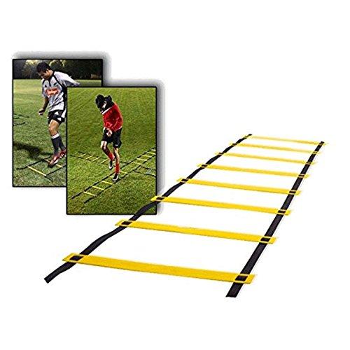 CAMTOA 9-rung Agility Ladder Speed ladder Training ladder Durable Agility Ladder