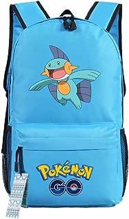 ZFX Pocket Monsters Pikachu Gengar Students Backpacks Shoulder Bags Schoolbag
