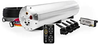 Accuair E-level Air Management Package (AMP) (Nickel Finish Touchpad, Raw Aluminum 5 gal. 4-corner Tank)