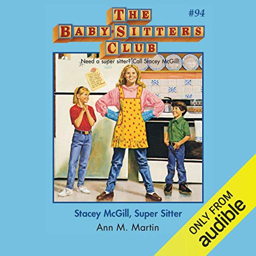 Stacey McGill, Super Sitter audiobook cover art