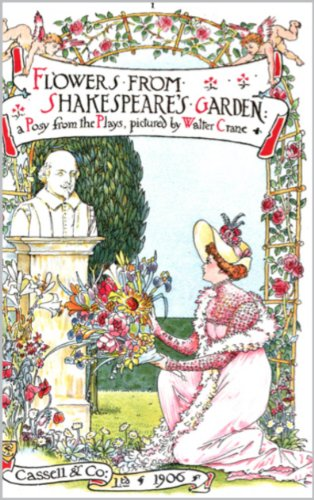 Flower's from Shakespeare's Garden by [Walter Crane]