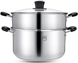 9.4 Inch Steamer Pot Set, Grote Stomende Kookgerei Potten, Voor Stoofschotels, Soepen En Warmte-voedsel, Geschikt Op Alle ...