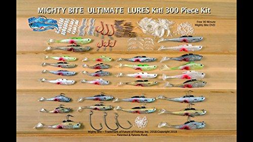 Mighty Bite Ultimate Mega Value Kit 90 min Fishing Secrets DVD