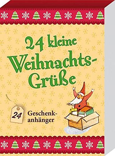 24 kleine Weihnachtsgrüße: 24 Geschenkanhänger