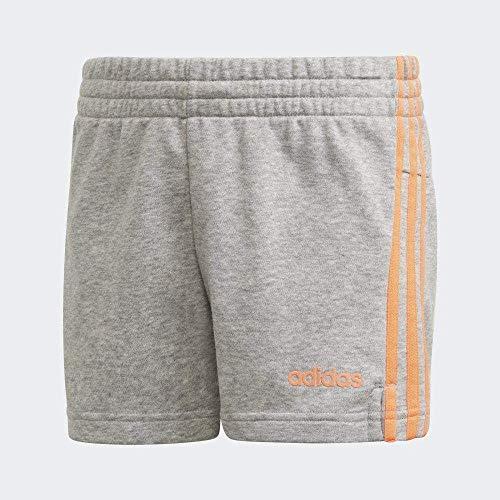 adidas Yg E 3S Short Pantalón Corto, Niñas, Brgrin/Corsen, 164 (13/14 años)