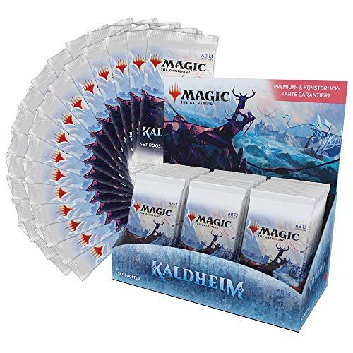 Magic: The Gathering Kaldheim-Set-Booster-Box (30 Packungen) -Deutsche Version