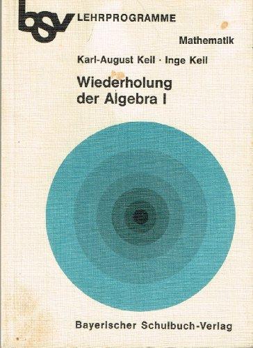 bsv Lernprogramme Mathematik / Wiederholung der Algebra I: Termumformungen, Lineare Gleichungen und Gleichungssysteme