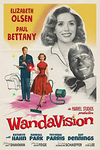 Wan_Davi-sion Retro Movie Poster - Wall Art for Home Decor Poster - 11x17 16x24 24x36 Inch (No Frame)