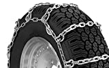5.5mm square rod alloy tire chains This set includes two tire chains CAM tool QG20088 is supplied in each bag to take up slack in the chain Chain tighteners are not required Does not meet S.A.E. class 'S' requirements