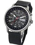 ラドウェザー 電波ソーラー腕時計 メンズ 100m防水 腕時計 lad017 ブラック