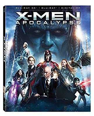 X-men Apocalypse 3D [3D Blu-ray]