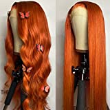 Best Full Lace Wigs - Full Lace Wig Orange Ginger Color 13x4 Lace Review