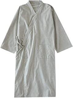 Fancy Pumpkin Kimono Giapponese Robe Long Yukata Pigiama Dressing Gown Camicia da Notte-Taglia L-04