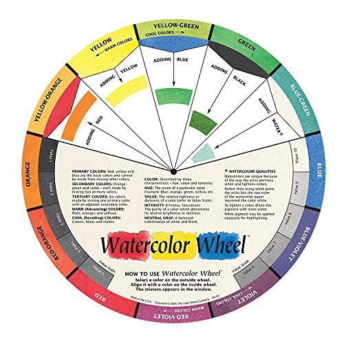 The Color Wheel Company Watercolor Wheel Watercolor Color Wheel