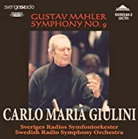 Mahler Symphony No.9. (Swedish Radio Orchestra/ Carlo Maria Giulini. Rec. 2/9/73) by VARIOUS ARTISTS (2014-07-28)