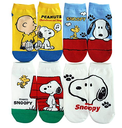 Peanuts Damen Socken Side by Side