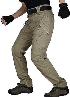 カーゴパンツ 【耐摩耗 多機能 伸縮性】 メンズ ミリタリー アウトドア ワーク パンツ 男性 タクティカルパンツ 作業 着 長ズボン
