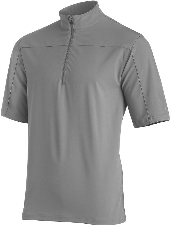 Mizuno Men's Comp Short Sleeve Batting Jacket, Grey, XX-Large