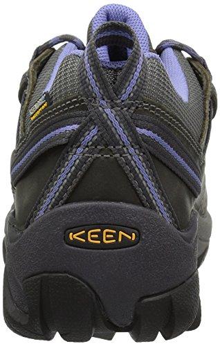 KEEN Women's Targhee II Outdoor Shoe, Magnet/Periwinkle, 8.5 M US