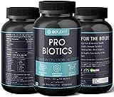 Boldfit Probiotics Supplement 30 Billion CFU for men and women, 16 Strains with Prebiotics - 120 Veg Capsules