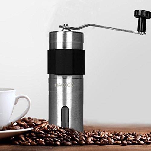 HAOCOO『ステンレスコーヒーミル』
