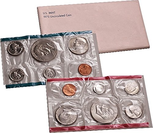1975 - U.S. Mint Large Cash special price discharge sale Set 12 set Commerative coin With Bicentennial