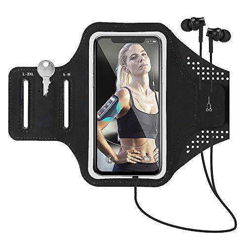 Brinny Sportrmband für Handy, Handyhalter Armband Sport Armtasche Handytasche für Handy 4-7
