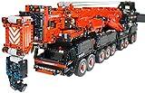 Drohneks Technic All-Terrain Crane Building Set, 2.4Ghz RC Mobile Crane Liebherr LTM11200 Crane, 7705Pcs Building Blocks Compatible with Technic, Gift for Adults and Children
