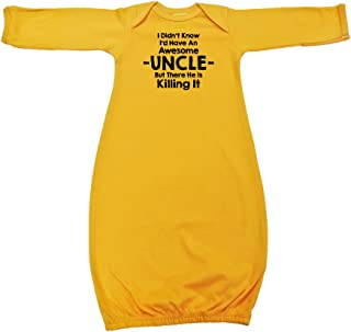 We Match! Unisex Baby - My Uncle is Killing It Baby Bodysuit (19 Colors Available)