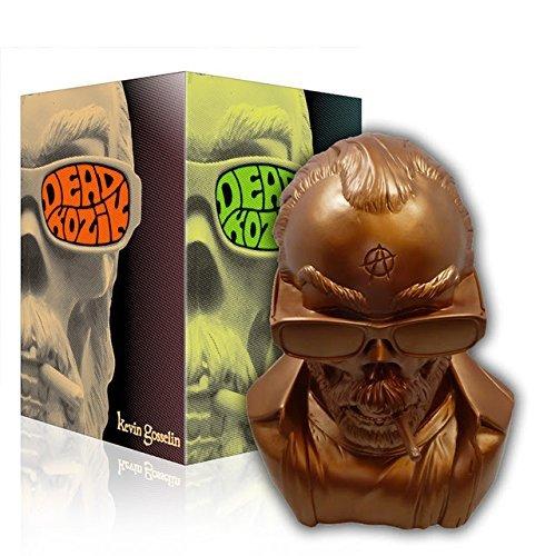 Dead Kozik Bronze Limited Edition Designer Vinyl Art Bust Figure image
