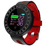 * Funzioni sportive e fitness: monitoraggio dinamico della frequenza cardiaca 24 ore su 24, monitoraggio della pressione arteriosa, monitoraggio dell'ossigeno nel sangue, registrazione degli esercizi (conta dei passi, tempo, consumo calorico), analis...