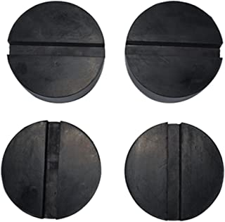 Fasmov 4-Pack of Jack Pads Rubber Protector Slotted Frame Rail Protector