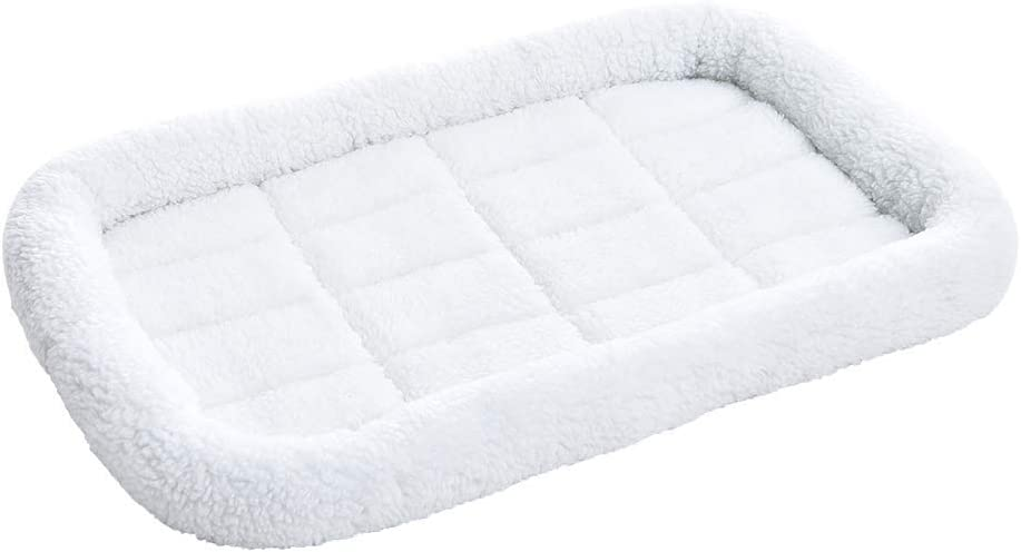 Amazon Basics Faux-Sherpa Padded Bed Max 59% OFF Recommended Bolster Pet