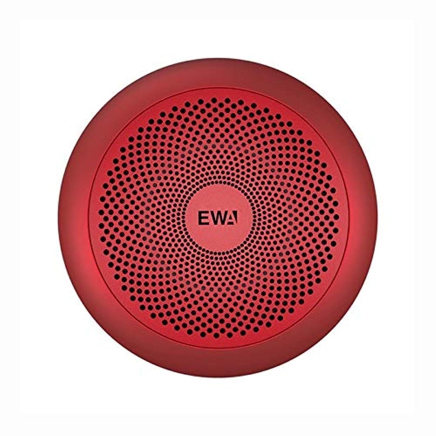 愛情ベッドを作る大臣Bluetoothスピーカー 高Hidelityブルートゥーススピーカー小型ハイパワーベースTWSのBluetoothテクノロジーのサポートTF (色 : Red)