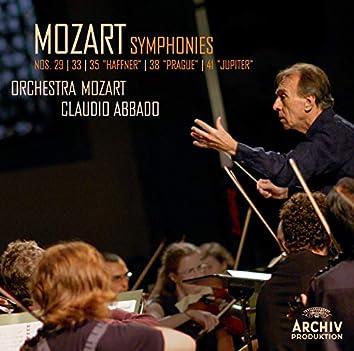 """Mozart: Symphonies Nos. 29, 33, 35 """"Haffner"""", 38 """"Prague"""", 41 """"Jupiter"""" (Live)"""