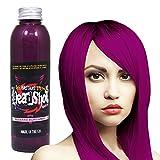 Weinrote Haarfarbe Headshot Bizarre Burgundy, Semi-permanente Haartönung 150 ml …