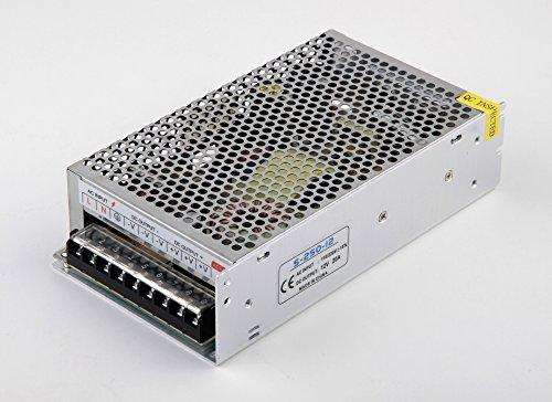 Transformador-Fuente de Alimentacion/Alimentador AC a DC de 220 a 12v 20 Amperios- 240W