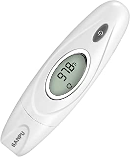 SANPU Ear and Forehead Thermometer Accurate Measurement Temperature, Used for Anybody,  for Baby,  for Children and for Adults