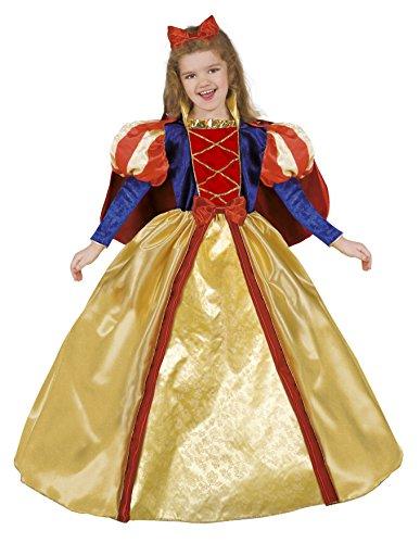 Ciao-Biancaneve costume bambina (Taglia 3-4 anni), Giallo/Rosso/Blu, 14796.3-4