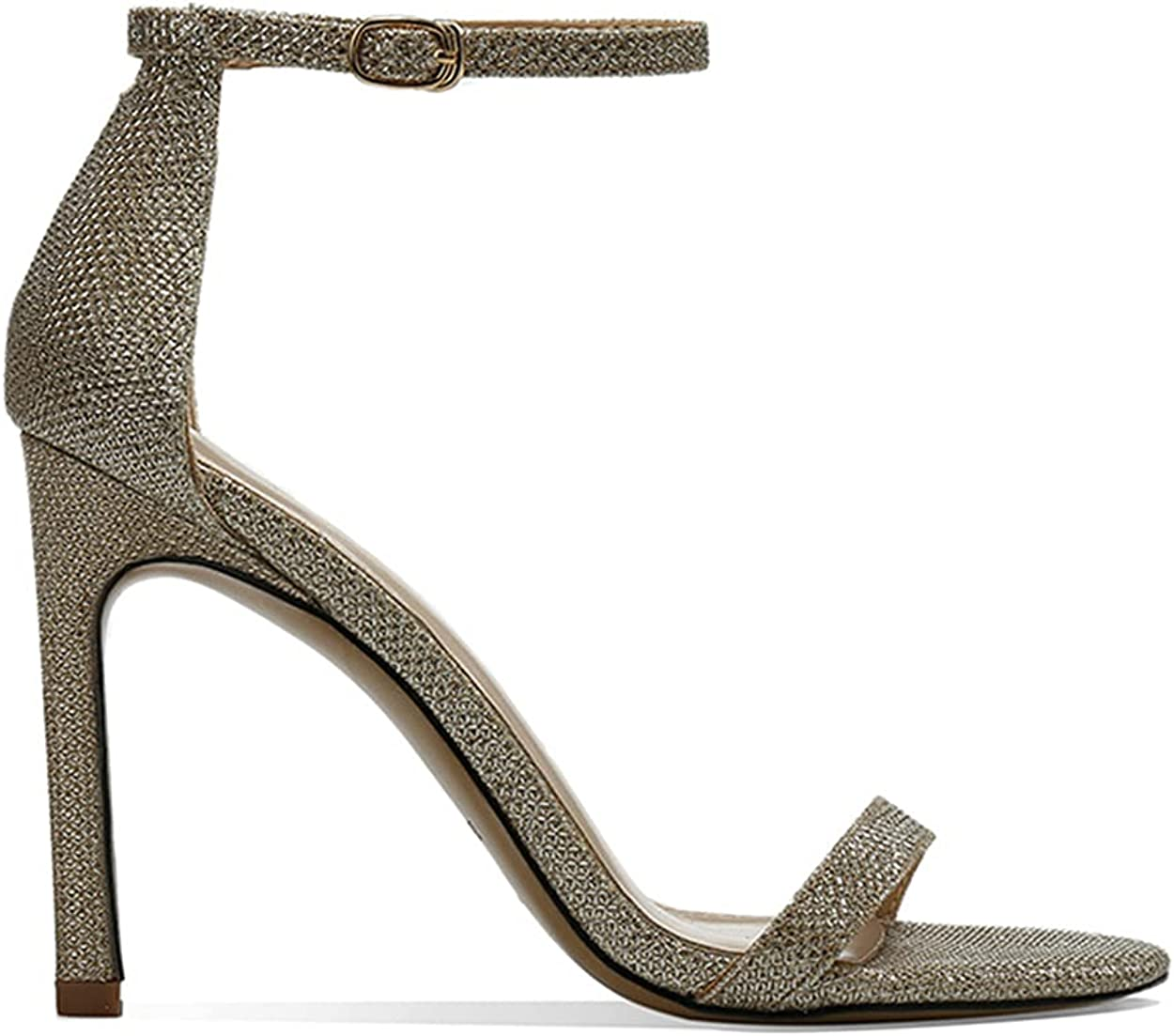 vibvib Women's Fashion Stiletto high Heel Max 44% OFF Large Time sale Siz with Sandals