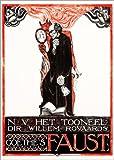 Poster 50 x 70 cm: Plakat für Goethes Faust von Richard